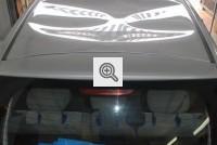 Hyundai z wgnieconym dachem